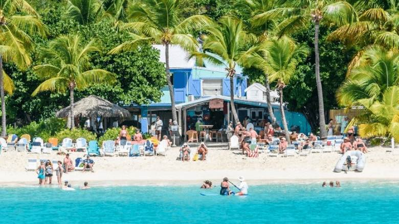Soggy Dollar Bar BVI